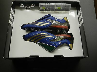 ADIDAS +F50.8 Tunit16 SOCCER CLEAT-NEW IN BOX- ROYAL - ITALY SPECIAL EDITION