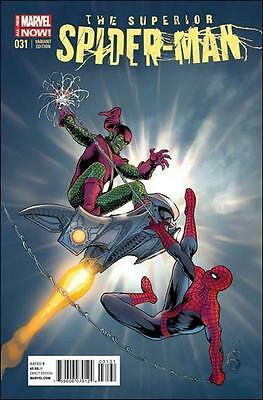 SUPERIOR SPIDER-MAN #31 KEVIN MAGUIRE variant 1st print MARVEL NOW last issue NM