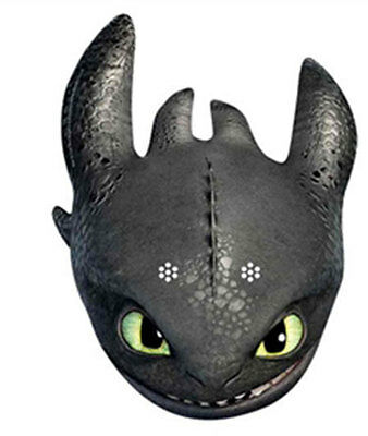 Toothless - How To Train Your Dragon 2 - Official  Single Card Party Face Mask