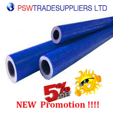 10 metre Pipe Insulation 22mm  for external use with pex/al/pex pipes