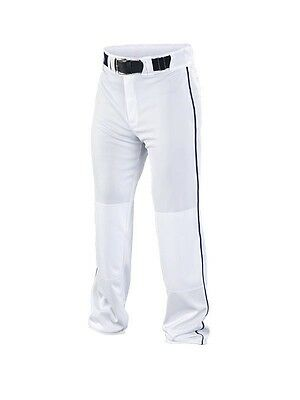 Easton Rival White/Royal Piped Youth Baseball/Softball Pants A164562WHRY