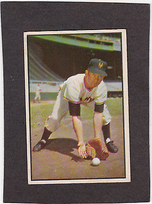 1953 Bowman Color #1 Davey Williams New York Giants First card in set Book $175