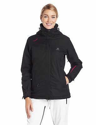SALOMON WOMENS SUPERNOVA II Jacket Winter Ski Snow Coat
