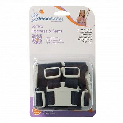 Brand New Dreambaby Safety Harness & Reins Walking Pram Chair Baby Safety Dream
