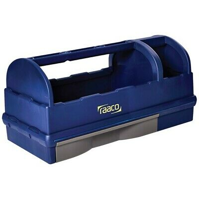 Raaco Open Toolbox 137195 Tool Box Carry Case 3 Compartments and Drawer
