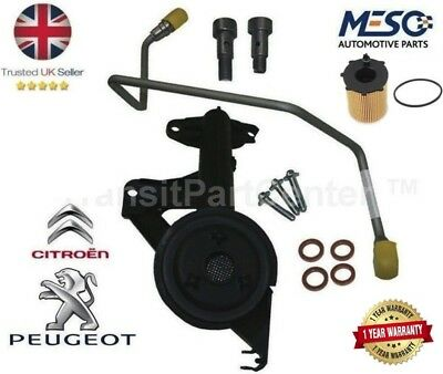 Genuine Turbo Fitting Kit Oil Feed / Return Pipe Banjo Bolt 1.6 Tdci 110 Ps