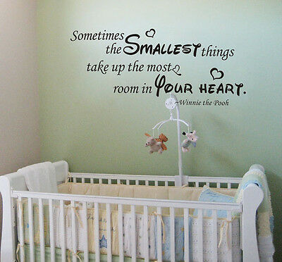 wall stickers sometimes smallest winnie kids decor art removable vinyl decal