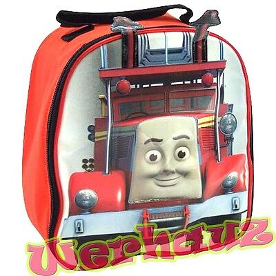 Thomas & Friends Fire Truck LunchBox Red Dome Lunch Bag, New