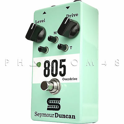 Seymour Duncan 805 Overdrive/Distortion Active EQ Guitar Effect Pedal - NEW