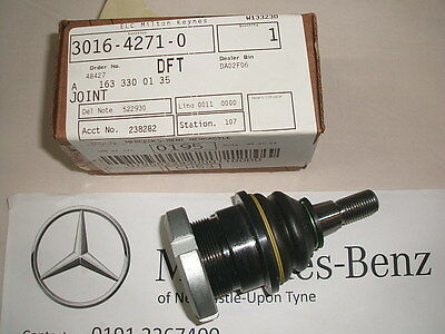 Genuine Mercedes-Benz W163 ML Front Bottom Ball Joint A1633300135 NEW