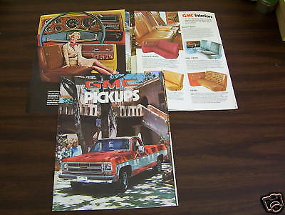 1976 GMC PICKUP TRUCK 12-Page BROCHURE, SALES CATALOG