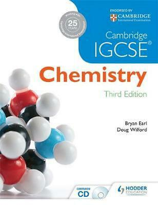 Cambridge IGCSE Chemistry by Bryan Earl Paperback Book Free Shipping!