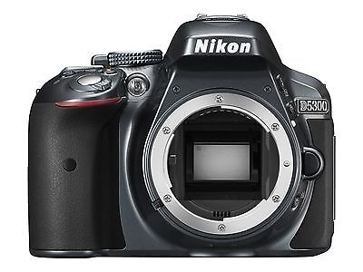 Nikon D5300 24.2 MP Digital SLR Camera - Black (Body only)