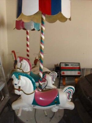 Coin Operated Rides Merry-Go-Rounds 2-Horse