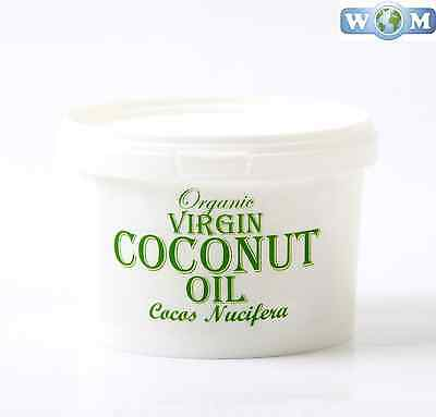Coconut Virgin Organic Carrier Oil 100% Pure - 500g (CO500COCOVIRG)