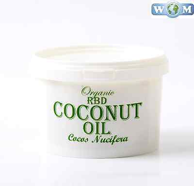 Coconut RBD Organic Carrier Oil  - 100% Pure - 500g (CO500COCORBD)