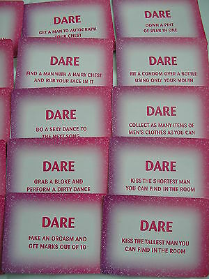 24  Dare Cards     Hen Night/girls Nite Out