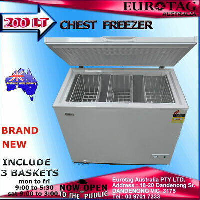 EUROTAG 200LT CHEST FREEZER  !!!! BRAND NEW!!!! 12 months warranty