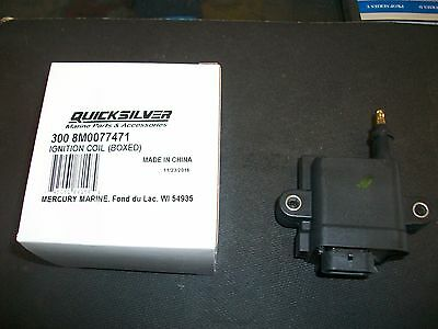 Mercury 3 Cyl 75/90/115 Hp Optimax Ob Ignition Coil 300-879984T01/300-8M0077471