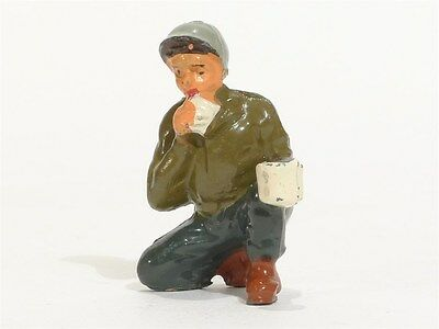 Vintage Timpo Toy Soldiers No 9026 GI With Coffee Mug Eating U S Army