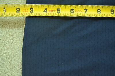 "By 1/2 Yd, 36"" Wide, Vintage 1940's-60's Navy with Textured Lines, Blouse, M2224"