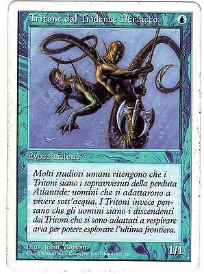 Tritone dal Tridente Perlaceo - Merfolk of the Pearl Trident MAGIC 5th Edition