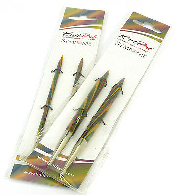 KnitPro Symfonie Wood Interchangeable needle tips