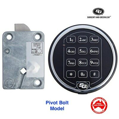 S & G Spartan Electronic Safe Lock -Vault, Safe, Combination Code Pad