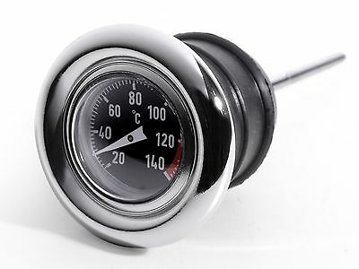 Oil Temperature Dipstick Celsius Thermometer for Harley-Davidson Softail