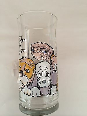 """VINTAGE 1982 LIMITED EDITION E.T. GLASS FROM PIZZA HUT, """"HOME"""""""