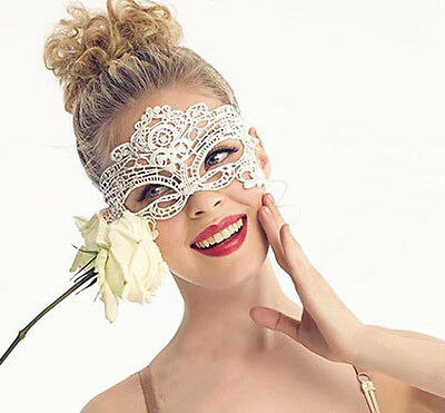 Fashion Lace Party Ball Masquerade Fancy Dress Party Mask Black White