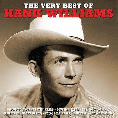 Hank Williams VERY BEST OF Essential 50 Track Collection COUNTRY MUSIC New 2 CD