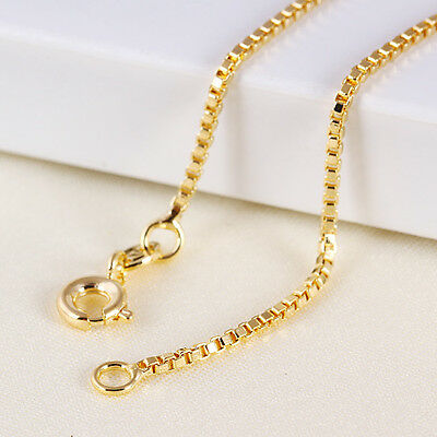 """9ct 9K Yellow """"Gold Filled"""" Baby Girls Children NECKLACE CHAIN. L=13.78"""" ,Gift"""""""