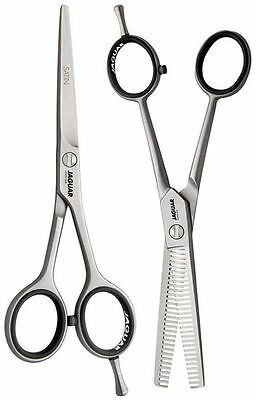 "Jaguar Scissors Or Thinners 4.5""/5""/5.5""/6""/6.5""/7"" White Line Satin Salon Serie"