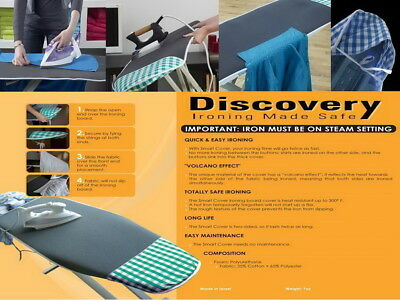 Discovery Wonder Pad Best Ironing Board Smart Cover Laundry Comfort & Efficiency