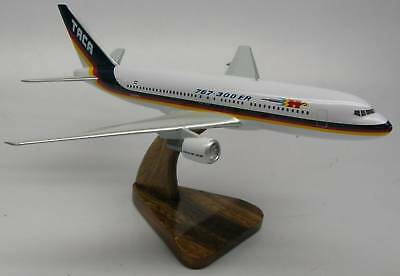 B-767 TACA Airlines Boeing B767 Airplane Wood Model Free Shipping Large New