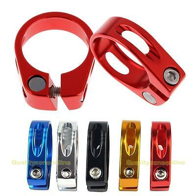34.9mm Aluminum Alloy MTB Bike Bicycle Cycling Saddle Seat Post Clamp New
