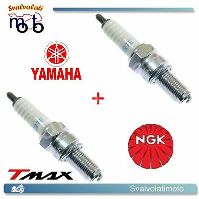 2 Candele Ngk Cr7E Per Scooter Yamaha Xp 530 Tmax T-Max Dal 2012 In Poi