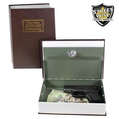 Streetwise Key Locking Book Diversion Safe - Protect Your Valuables