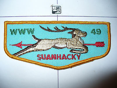 OA Suanhacky Lodge 49,F-4c,1960s Stag Flap,4,Greater New York Councils,Queens,NY