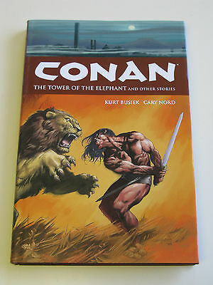 CONAN - THE TOWER OF THE ELEPHANT / LIMITED 1st EDITION HARDBACK