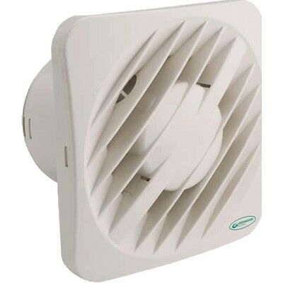 "Greenwood AXS100TR 4"" Extractor Fan with Overrun Timer"