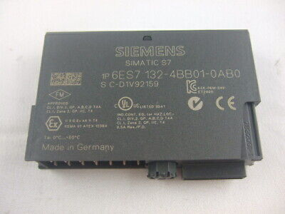 Siemens Simatic S7 ET200S Elektronikmodule 6ES7132-4BB01-0AB0 2DO