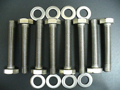 FORD 7.3 L POWERSTROKE DIESEL EXHAUST MANIFOLD STAINLESS STEEL BOLTS BOLT KIT