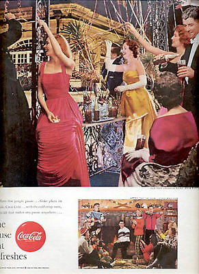 1959 Coca-Cola- The Pause that Refreshes  ad (# 4435)