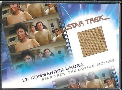 Complete Star Trek Movies Costume Card MC9 Lt Uhura