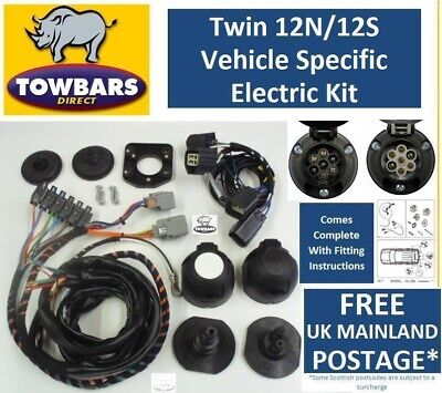 Towbar Wiring Kit Land Rover Discovery 3 Twin Electrics