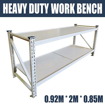 Heavy Duty 800kg garage workbench steel work bench warehouse workshop Stand 0.85