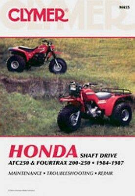 Clymer Repair Service Shop Manual Honda TRX200 ATC250ES ATC250SX TRX250 Fourtrax