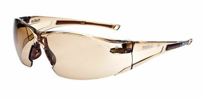 Bolle Rush Safety Glasses Specs Clear or Twilight Lens Anti-Fog FREE CORD